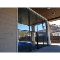 Преимущества раздвижных алюминиевых дверей