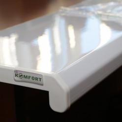Подоконник пластиковый ПВХ Danke (Данке) Komfort 100 мм. пог. м.