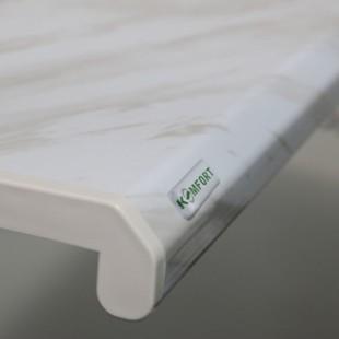 Купить Подоконник пластиковый ПВХ Danke (Данке) Komfort 600 мм. пог. м.