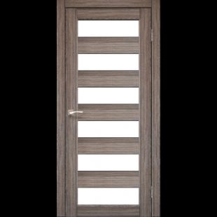 Купить дверное полотно Porto PR-04 Korfad стекло сатин белый