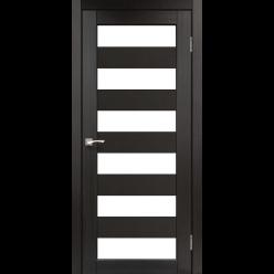 Дверное полотно Porto PR-04 Korfad стекло сатин белый