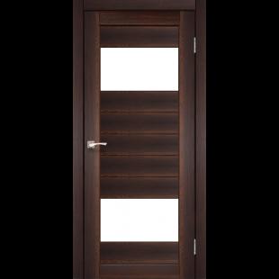 Купить дверное полотно Porto PR-9 Korfad стекло сатин белый