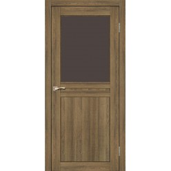 Дверное полотно Milano ML-03.1 Korfad стекло сатин белый