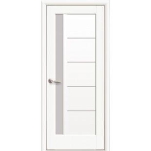"""Дверное полотно """"Ностра"""" G (Грета) белый матовый"""