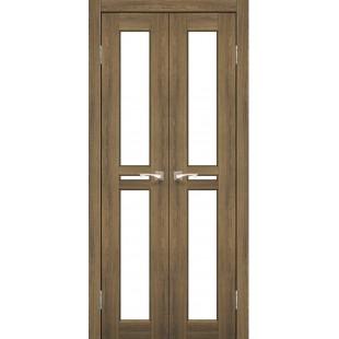 Дверное полотно Milano ML-08.1 Korfad стекло сатин белый