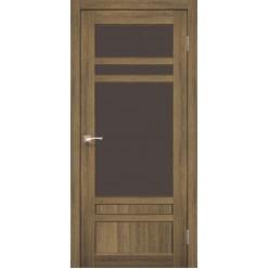 Дверное полотно Tivoli TV-04.1 Korfad стекло сатин белый