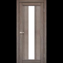 Дверное полотно Porto PR-10 Korfad стекло сатин белый