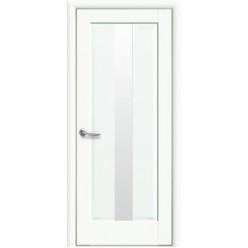 """Дверное полотно """"Маэстра Р"""" Премьера со стеклом сатин Premium"""