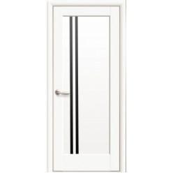 """Дверное полотно """"Ностра"""" D (Делла) BLK Белый матовый"""