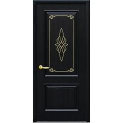 """Дверное полотно """"Вилла"""" А с золотом"""