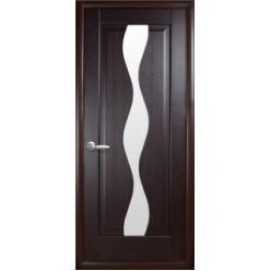 """Дверное полотно """"Маэстра Р"""" V (Волна) со стеклом сатин"""