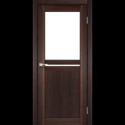 Дверное полотно Milano ML-04 Korfad стекло сатин белый