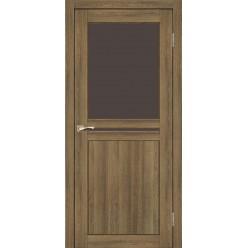 Дверное полотно Milano ML-04.1 Korfad стекло сатин белый