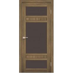 Дверное полотно Tivoli TV-05.1 Korfad стекло сатин белый
