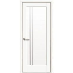 """Дверное полотно """"Ностра"""" D (Делла) Белый матовый"""
