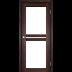 Дверное полотно Milano ML-05 Korfad стекло сатин белый
