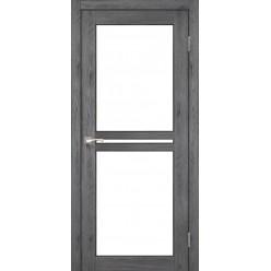 Дверное полотно Milano ML-05.1 Korfad стекло сатин белый