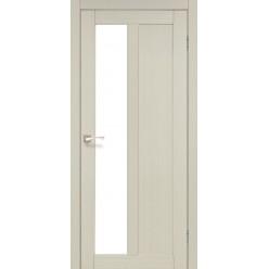 Дверное полотно Torino TR-03 Korfad стекло сатин белый