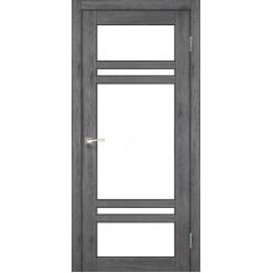 Дверное полотно Tivoli TV-06 Korfad стекло сатин белый