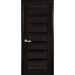"""Дверное полотно """"Ностра"""" L (Линнея) BLK"""