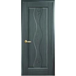 """Дверное полотно """"Маэстра Р"""" V (Волна) с граировкой"""