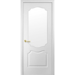 """Дверное полотно МДФ""""Симпли"""" V-B-G со стеклом"""