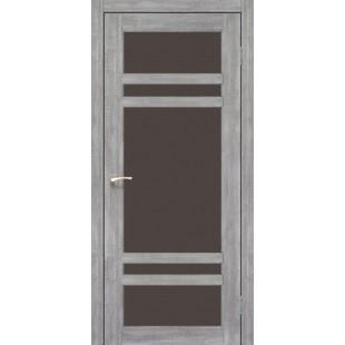 Дверное полотно Tivoli TV-06.1 Korfad стекло сатин белый