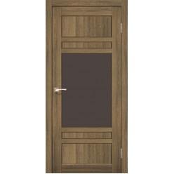 Дверное полотно Tivoli TV-01.1 Korfad стекло сатин белый