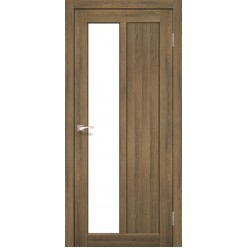 Дверное полотно Torino TR-03.1 Korfad стекло сатин белый
