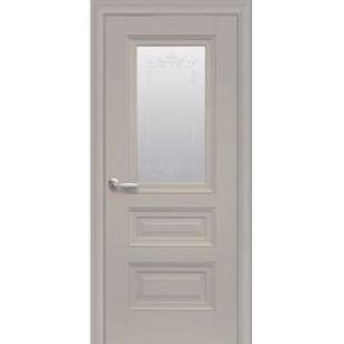 """Дверное полотно """"ЭЛЕГАНТ"""" Статус стекло с молдингом"""