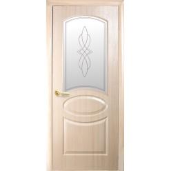"""Дверное полотно """"Фортис Р"""" R - В+Р1 """"ОВАЛ НОВЫЙ"""" погонаж DeLuxe"""