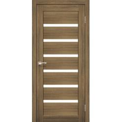 Дверное полотно Porto PR-01.1 Korfad стекло сатин белый