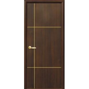 """Дверное полотно """"Плюс""""Ника gold"""