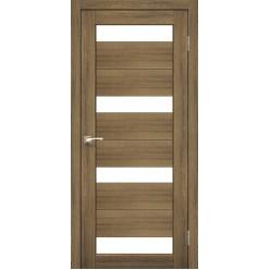 Дверное полотно Porto PR-06.1 Korfad стекло сатин белый