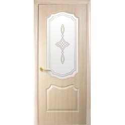 """Дверное полотно """"Фортис Р"""" V В+Р1 """"ВЕНЗЕЛЬ"""" погонаж DeLuxe"""