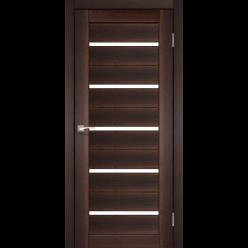 Дверное полотно Porto PR-02 Korfad стекло сатин белый