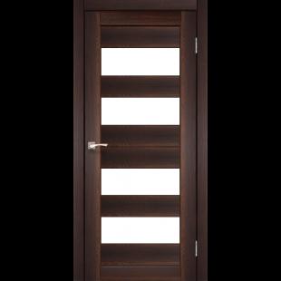 Купить дверное полотно Porto PR-7 Korfad стекло сатин белый