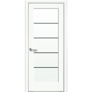 """Дверное полотно """"Ностра"""" М (Мира)BLK Белый матовый"""
