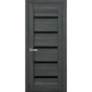 """Дверное полотно """"Лайт""""Лира BLK"""