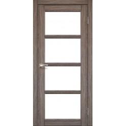 Дверное полотно Aprica AP-02 Korfad стекло сатин белый