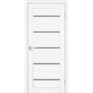 Купить дверное полотно Porto PR-02.1 Korfad стекло сатин белый