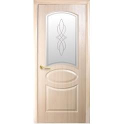 """Дверное полотно """"Фортис"""" R """"ОВАЛ НОВЫЙ"""" termopack погонаж DeLuxe+P1"""