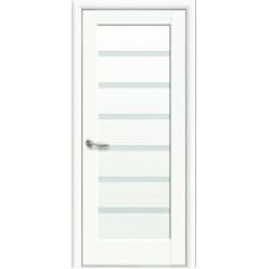 """Дверное полотно """"Ностра"""" L (Линнея) белый матовый"""