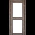 Дверное полотно Milano ML-07 Korfad стекло сатин белый