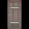 Дверное полотно Tivoli TV-03 Korfad стекло сатин белый