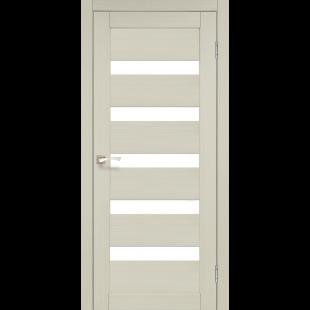 Купить дверное полотно Porto PR-03 Korfad стекло сатин белый