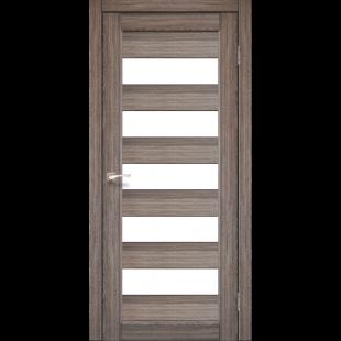 Купить дверное полотно Porto PR-8 Korfad стекло сатин белый