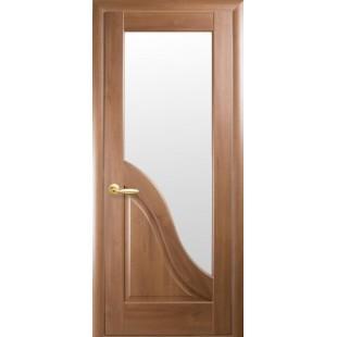 """Дверное полотно """"Маэстра Р"""" Амата со стеклом сатин"""