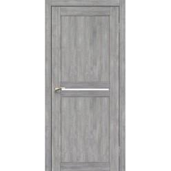 Дверное полотно Milano ML-02.1 Korfad стекло сатин белый