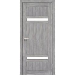Дверное полотно Tivoli TV-03.1 Korfad стекло сатин белый